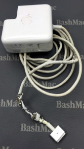 MagSafe Power Adapter before repair