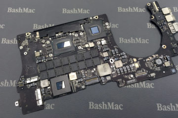 MacBook motherboard repair or exchange