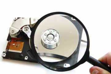 Data recovery from a HDD (hard disk drive)