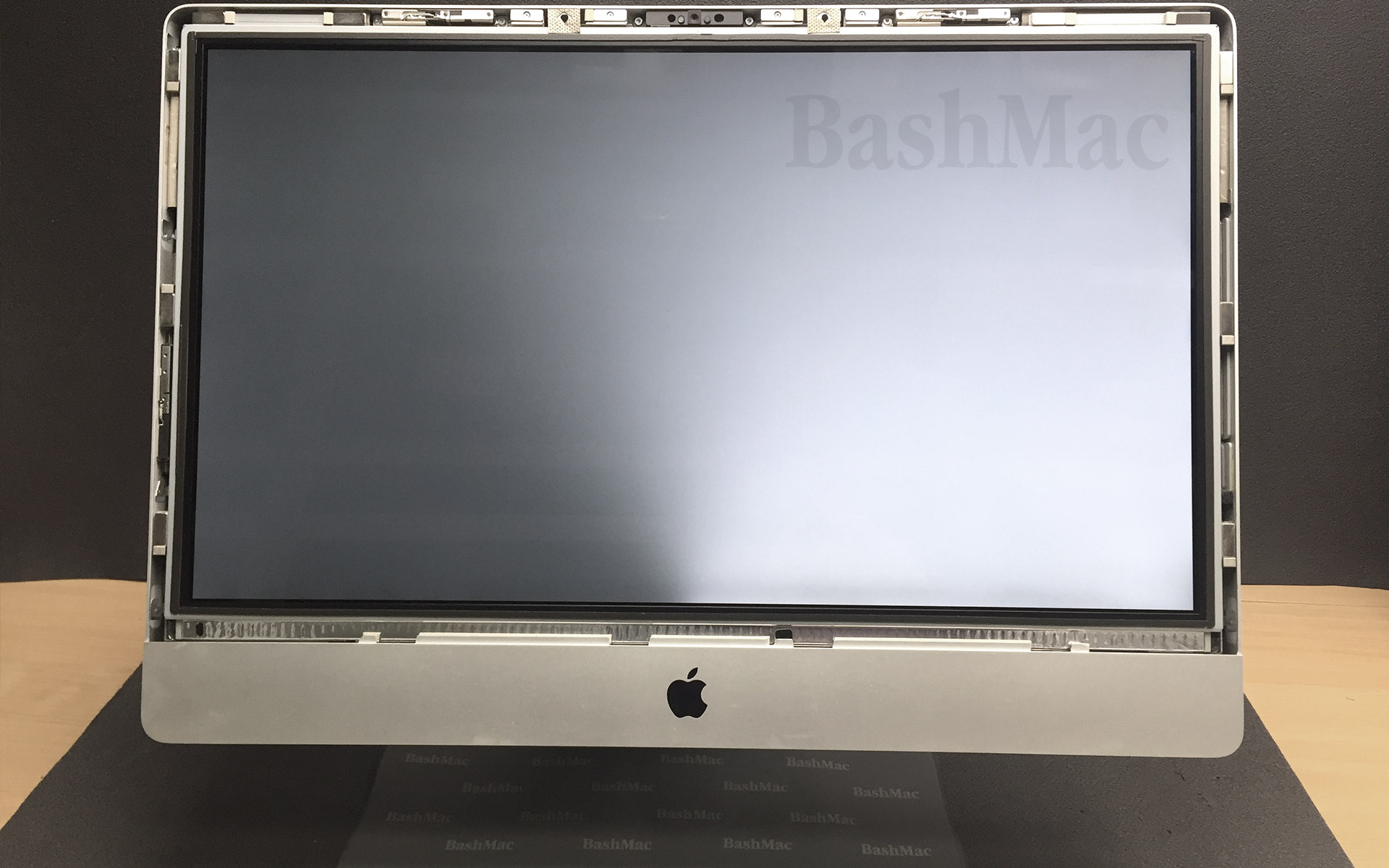 how to make imac display screen