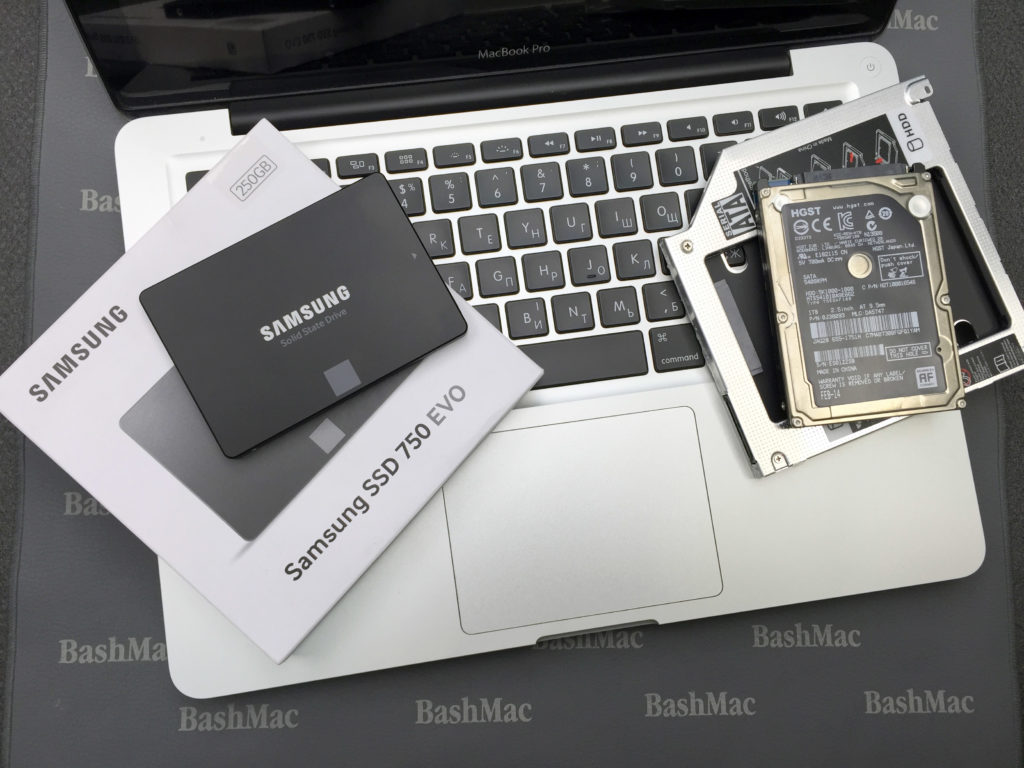 Adding a Second Drive (SSD, HDD) to MacBook Unibody